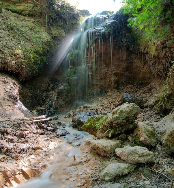 Водопад в Кислино