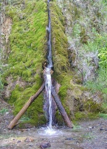 Кемеровский водопад