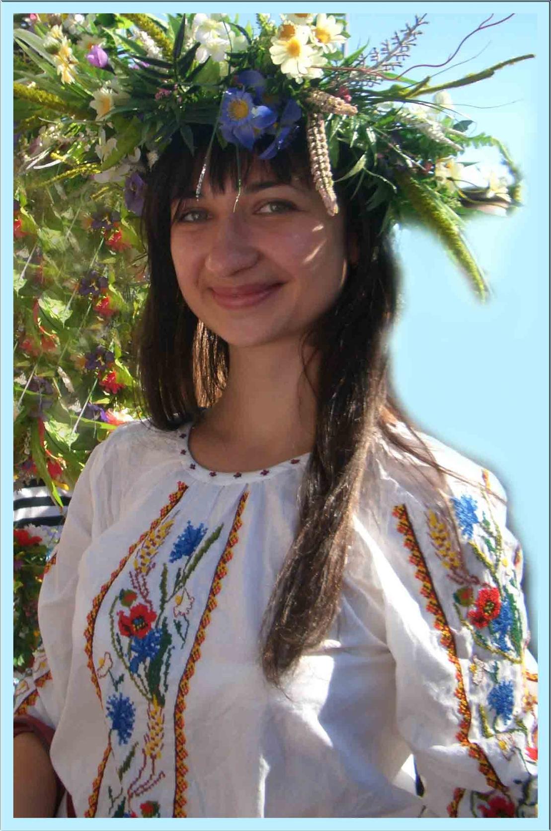 Украинские женские вышиванки