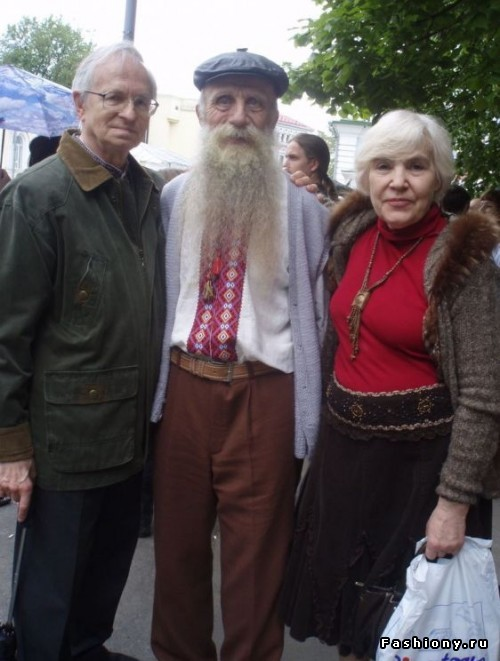 Украинская вышитая сорочка