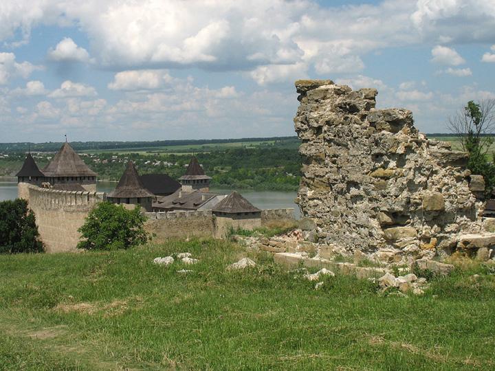 Хотинская крепость. Фото.