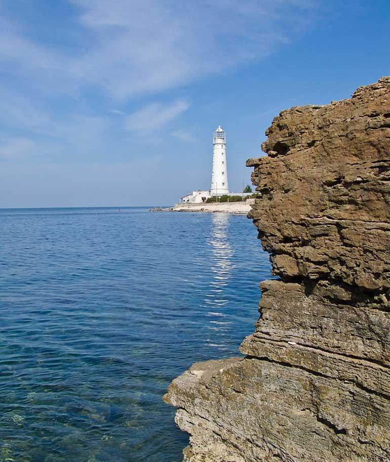 Мыс Тырханкут, Крым. Фото.