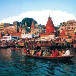 Город Харидвар на берегах Ганга