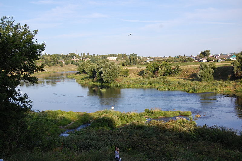 Куда течет река сосна схема фото 84