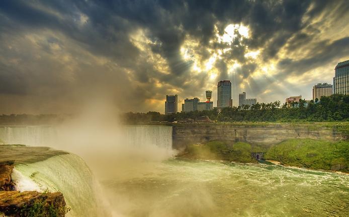 Где находится ниагарский водопад город