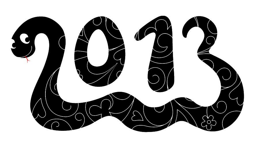 Новый 2013 год кого, какой змеи? 2013 это год какого ...