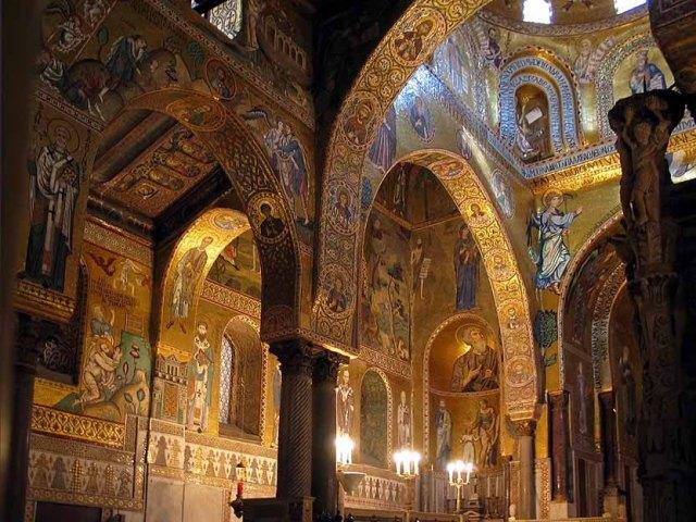 Палатинская капелла - La Cappella Palatina.