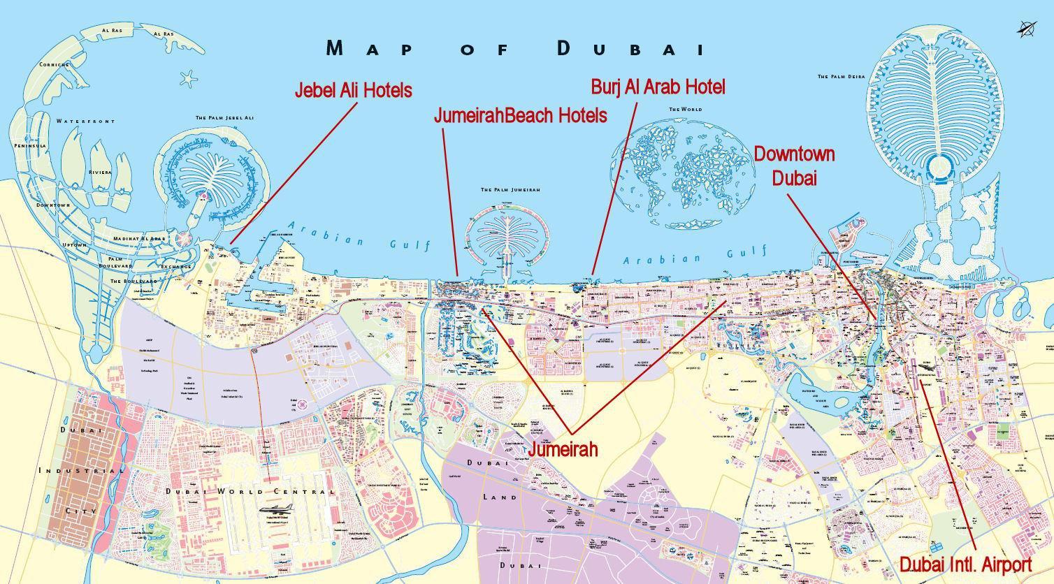 Дубай показать на карте мира san marco дубай