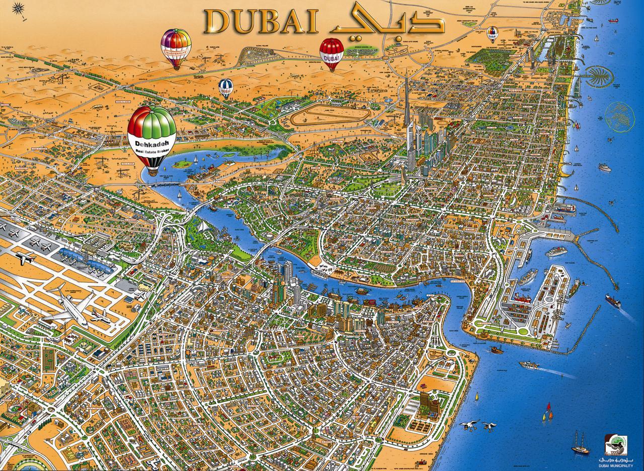 Дубай показать на карте мира снять квартиру в дубай у моря