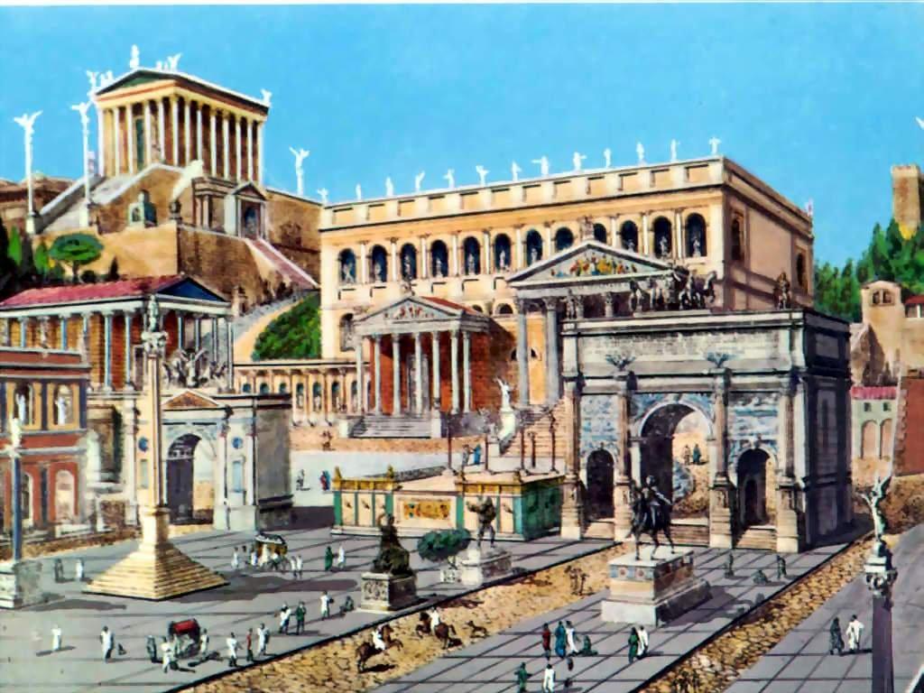 Ведь древний город Рим это не только архитектурные шедевры античности