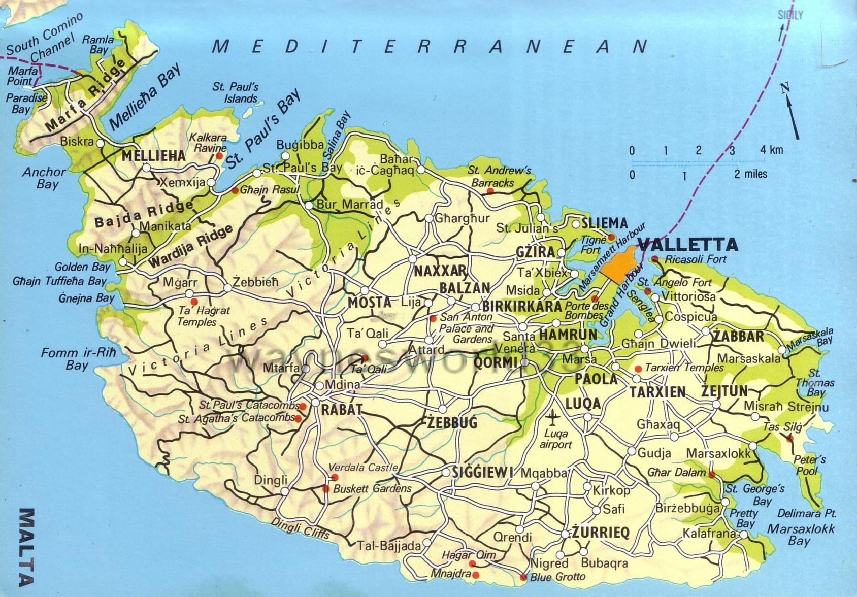 Мальта где находится в какой стране