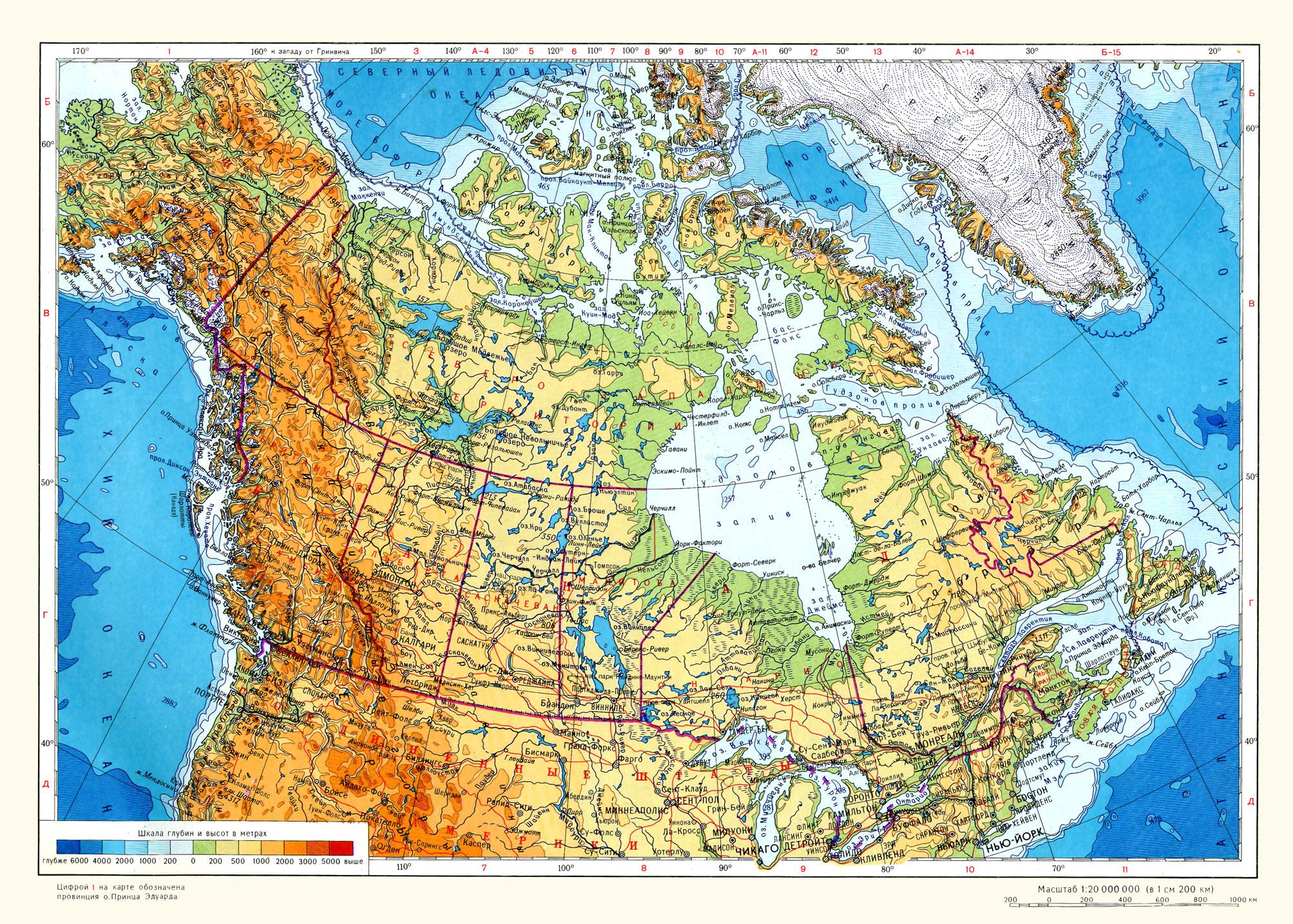 Карта канады недвижимость в арабских эмиратах