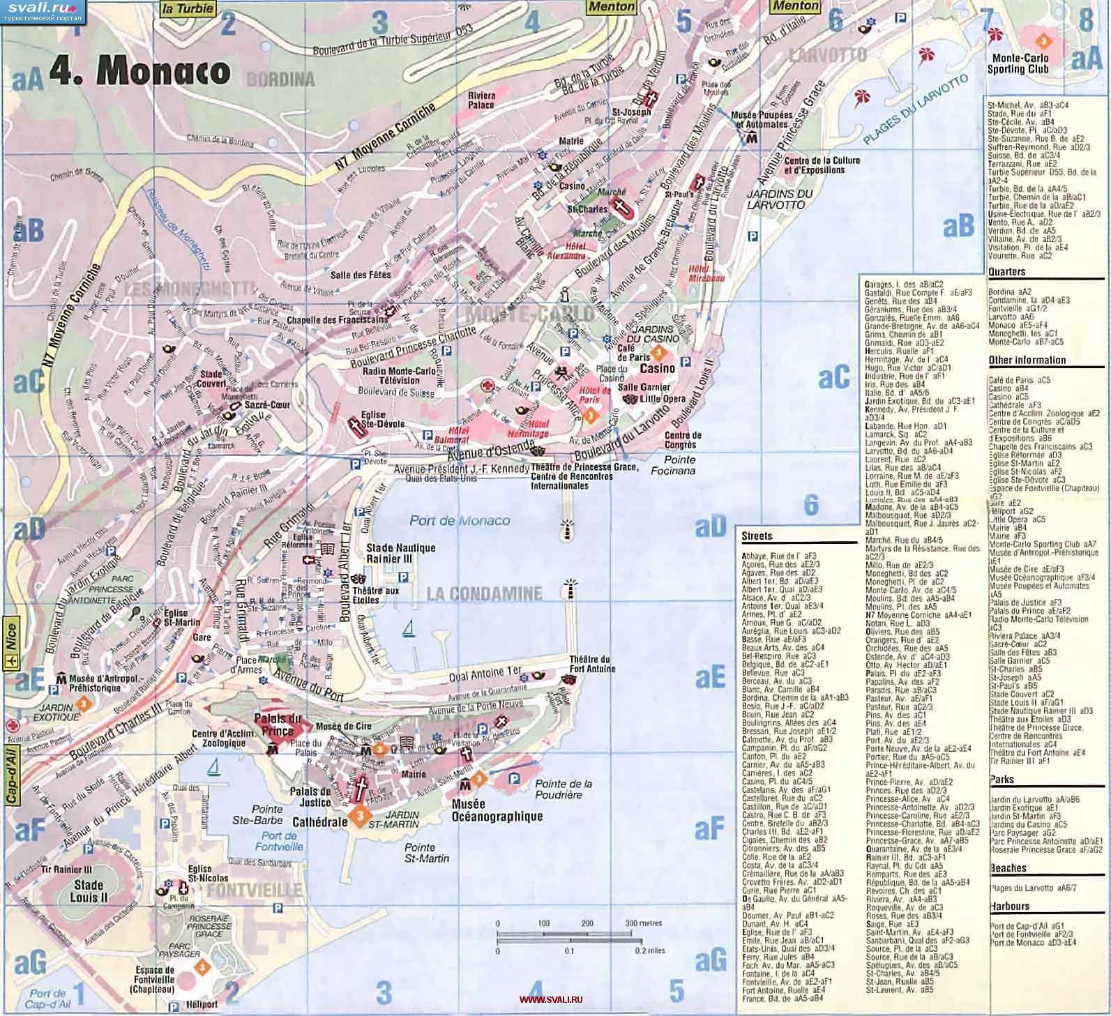 Karta Monako Na Russkom Yazyke Monako Na Karte Mira Webmandry Com