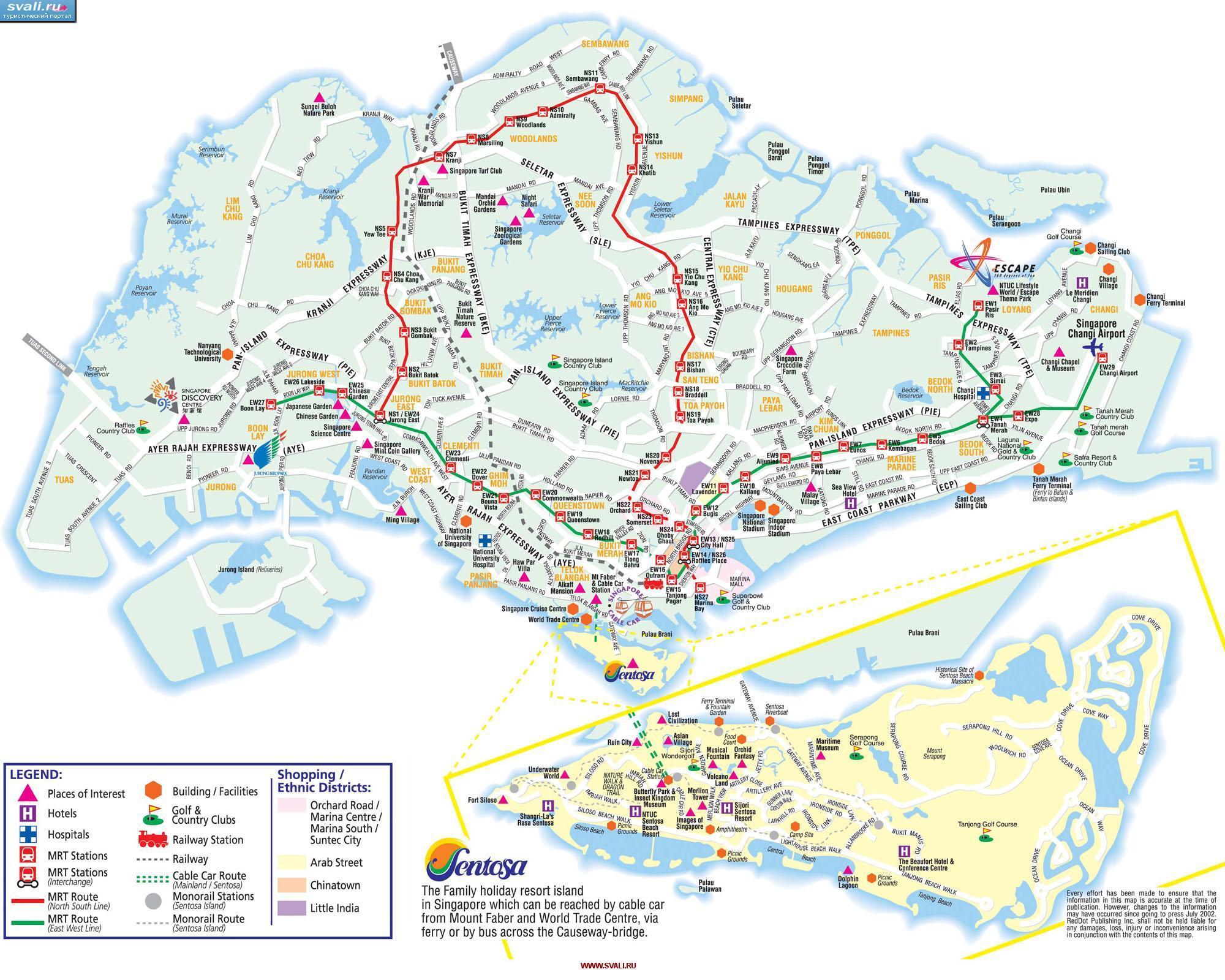 Karta Singapura Na Russkom Yazyke Gde Nahoditsya Singapur Na Karte
