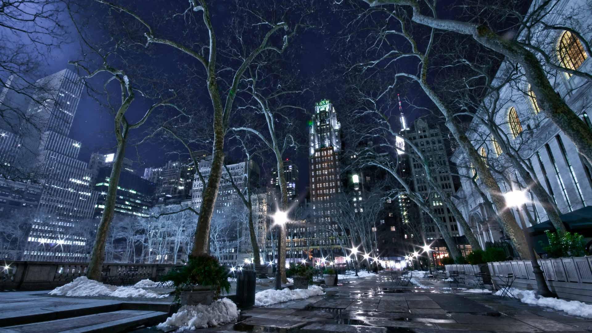 картинка зима город на рабочий стол джоли известна