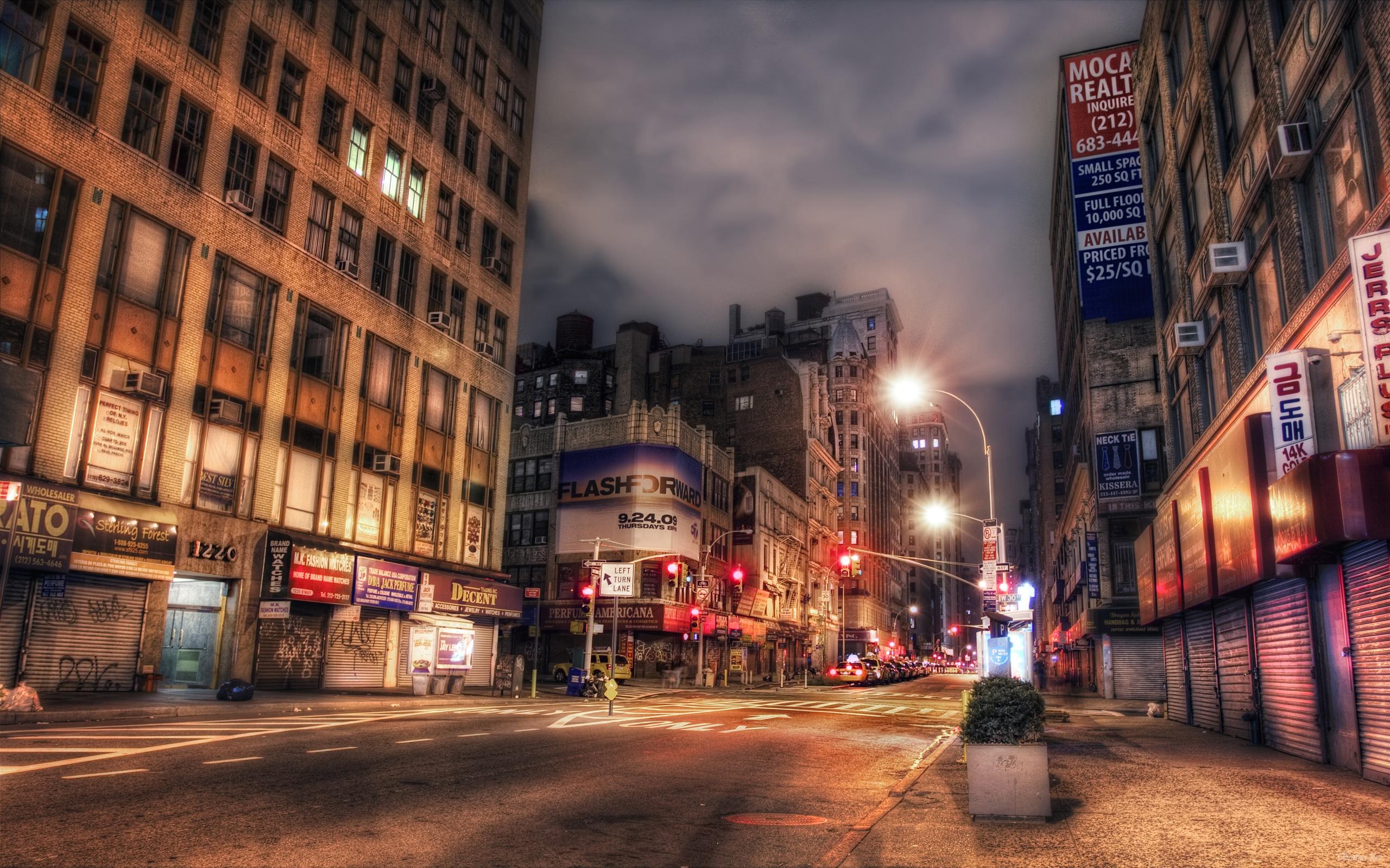 Обои Город, улица, Нью Йорк. Города foto 11