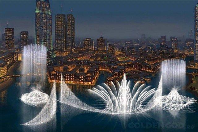 Дубай фонтан музыка цена недвижимости в дубай