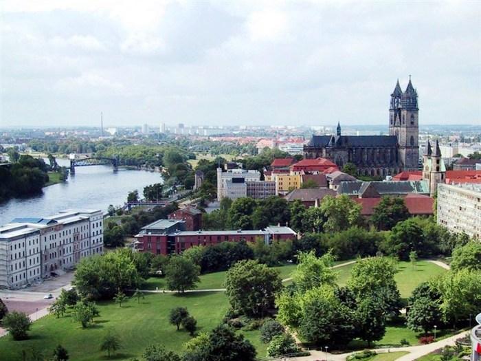 Центр маршрута – город Магдебург.