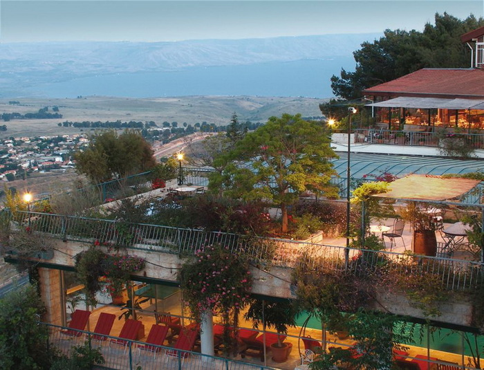 Mizpe Hayamim – элитный отель, расположенный в городке Рош Пина.