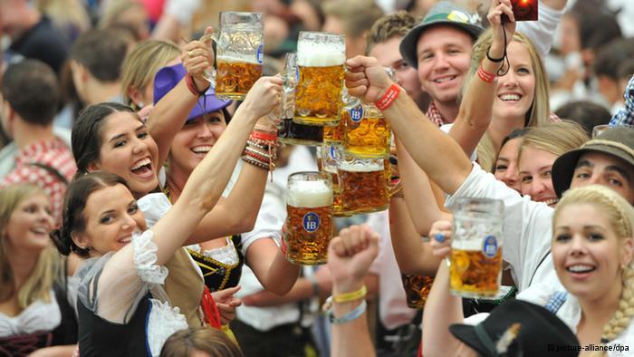 Октоберфест – праздник пива в Мюнхене.