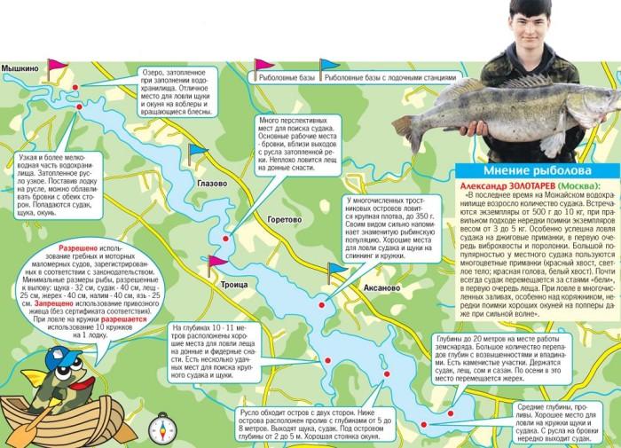 рыбалка в россии схема