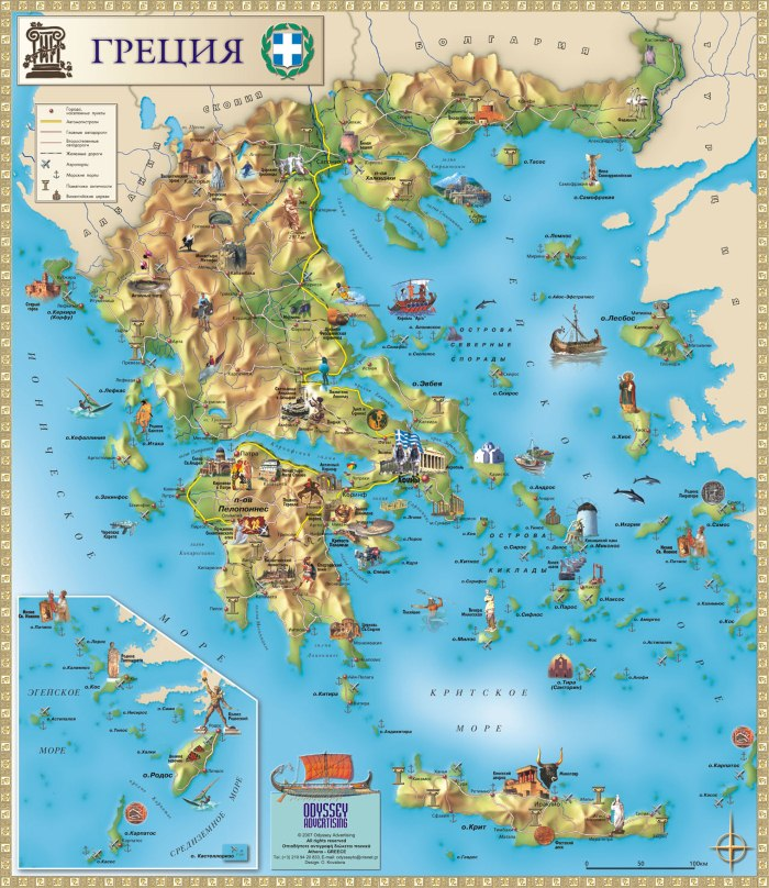 greece map 2