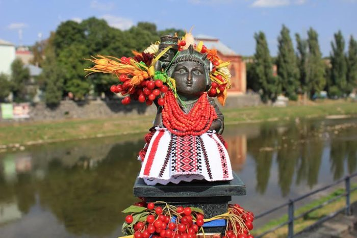 Ужгородская мини-статуя Свободы