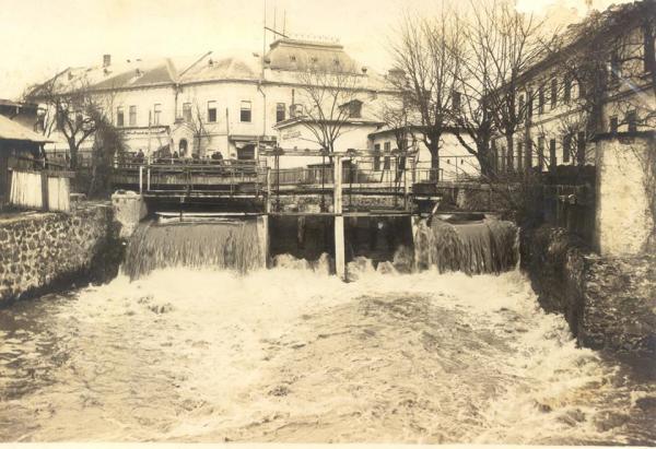 Река Малый Уж до 1936 года