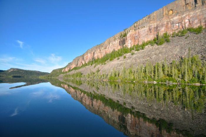 Самые глубокие озера мира - Болшое_Невольничье_озеро