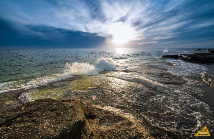 Самые глубокие озера мира - Каспий