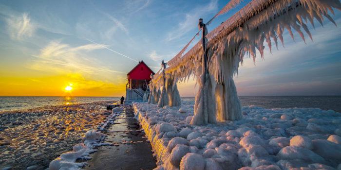 Самые большие озера - какое самое большое озеро в мире - 5 - Мичиган