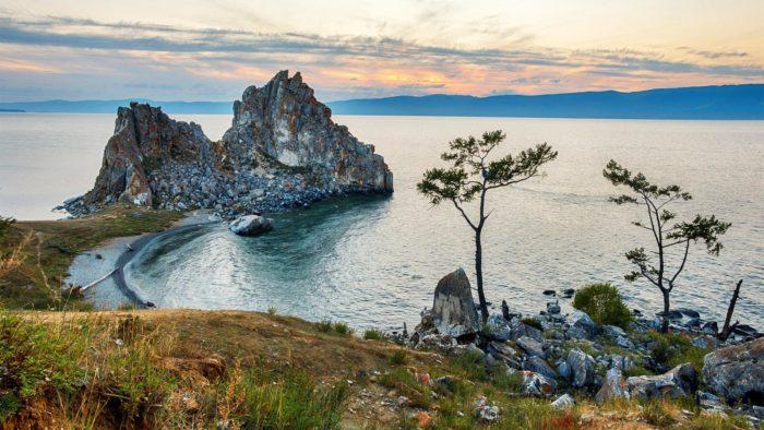 Самые популярные озера мира - озеро Байкал