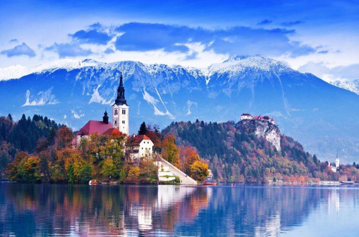 Самые популярные озера мира - озеро Блед