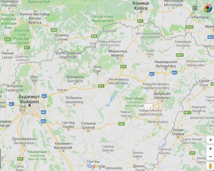 Хайдусобосло на карте