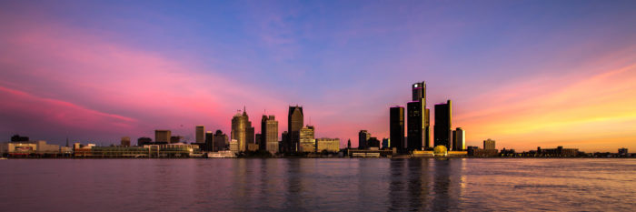 Самые популярные озера мира - озеро Мичиган