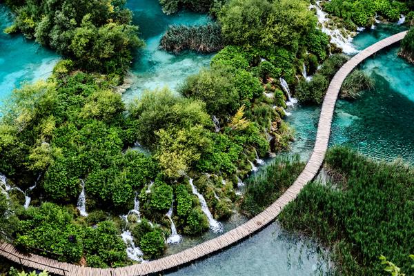 Самые красивые озера мира - Плитвицкие озера