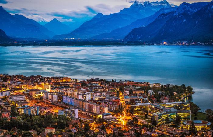 Самые популярные озера мира - Женевское озеро