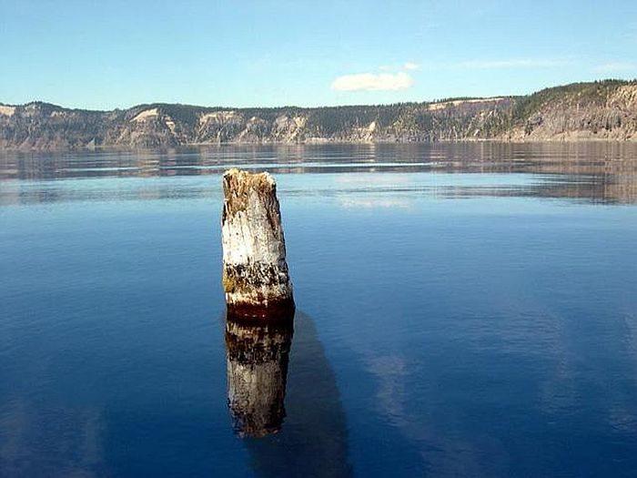 Самые чистые озера мира - озеро Крейтер