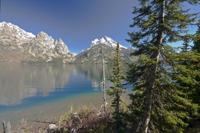 Самые чистые озера мира - озеро Дженни