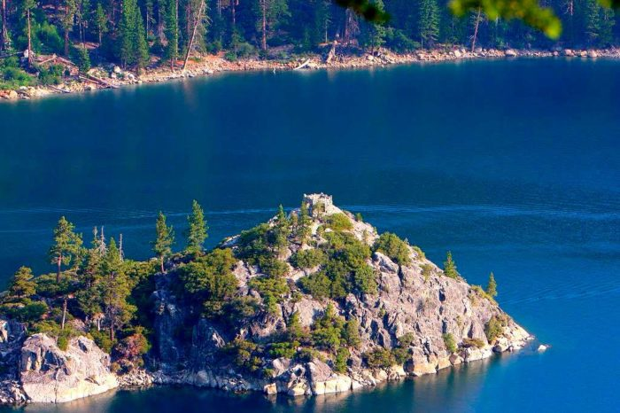 Самые чистые озера мира - озеро Тахо