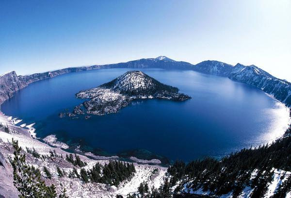 Самые красивые озера мира - озеро Крейтер