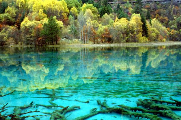 Самые красивые озера мира - озеро Пяти Цветов