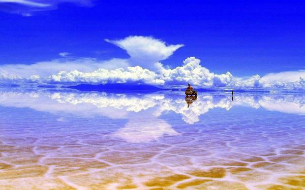 Самые красивые озера мира - озеро Уюни