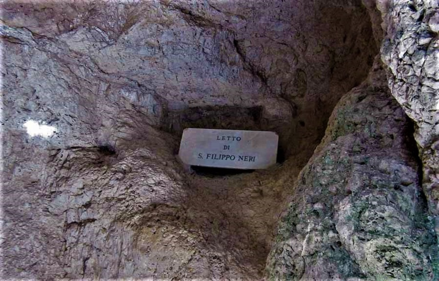 Кровать Филиппа (Letto di S. Filippo Neri)