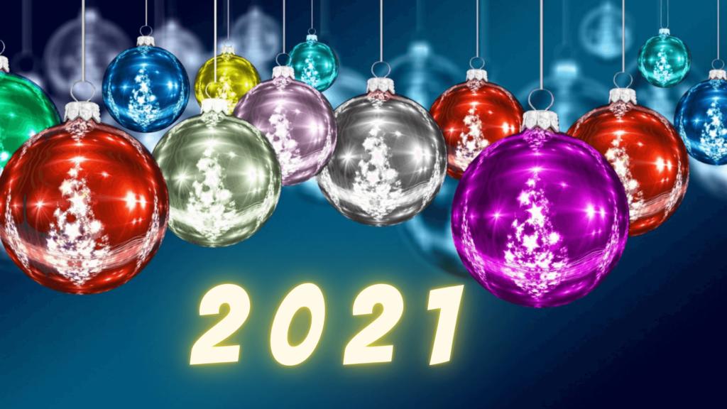 Красивые новогодние заставки 2021