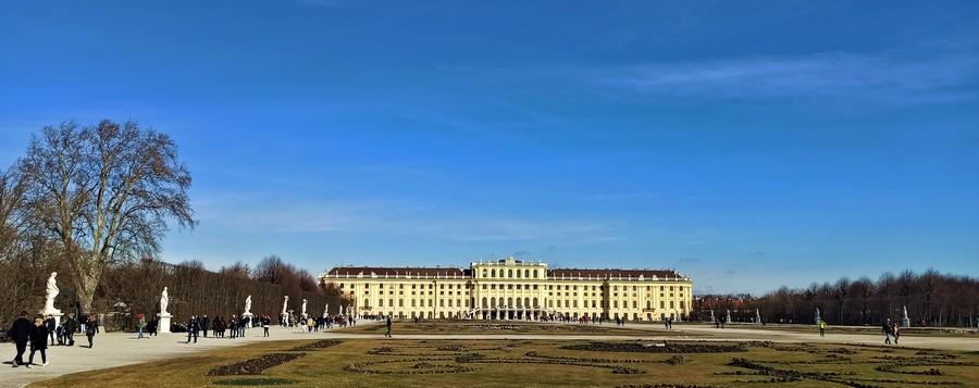 Зимний Шенбрунн фото