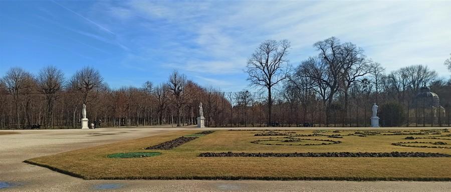 Зимний Шенбрунн фото - дворец и парк Габсбургов в Вене